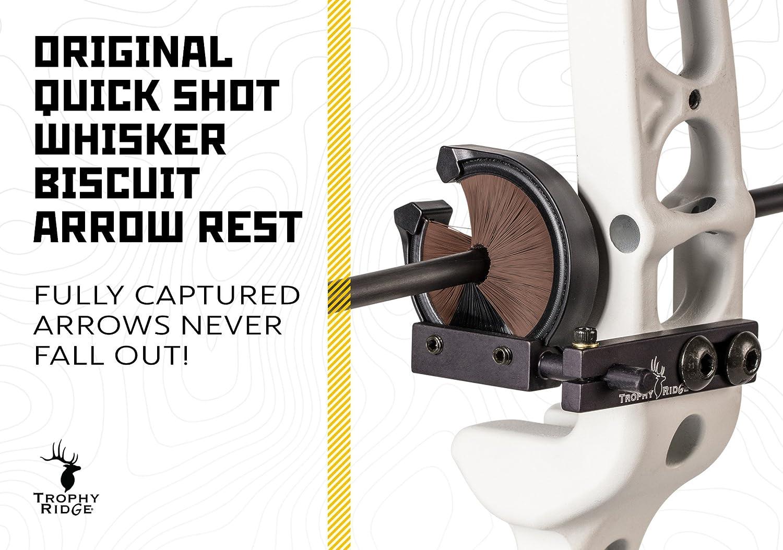 Trophy Ridge Original Quick Shot Whisker Biscuit Left Hand Arrow Rest