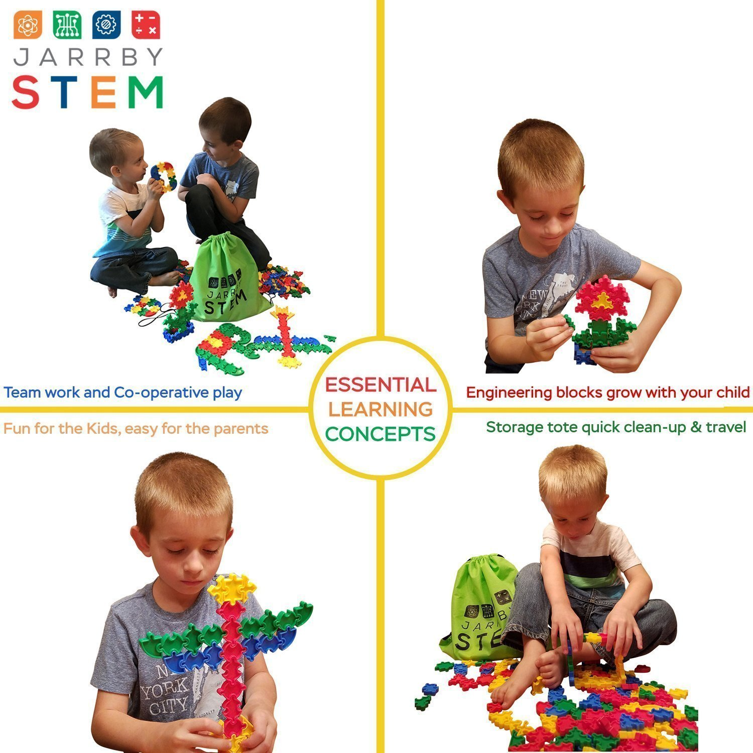 Amazon Puzzles For Kids Age 4 8 Educational Toys Preschool