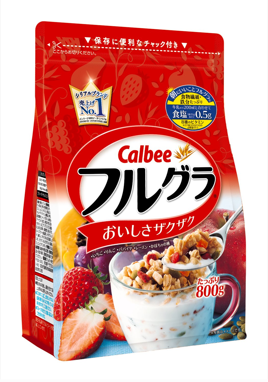 Calbee Fruit Granola by Calbee Japan