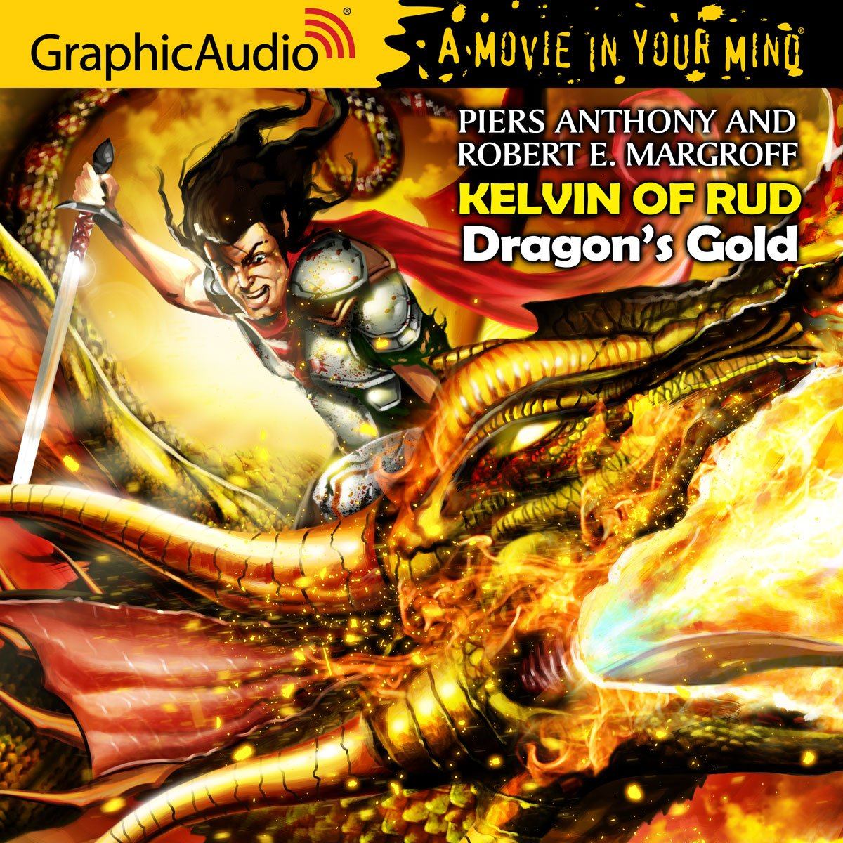 piers anthony dragon gold series