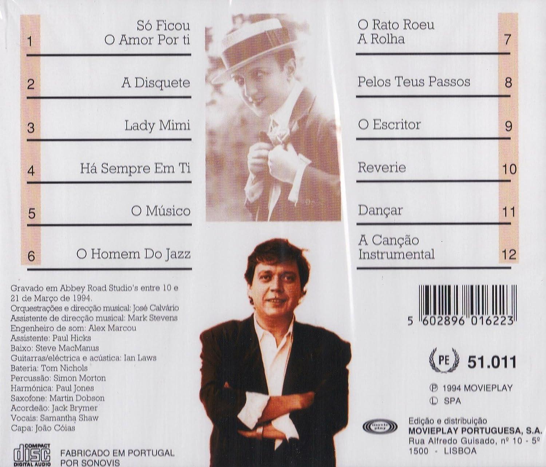 Fernando Tordo - Fernando Tordo - So o amor ficou por ti [CD] 1994 - Amazon.com Music