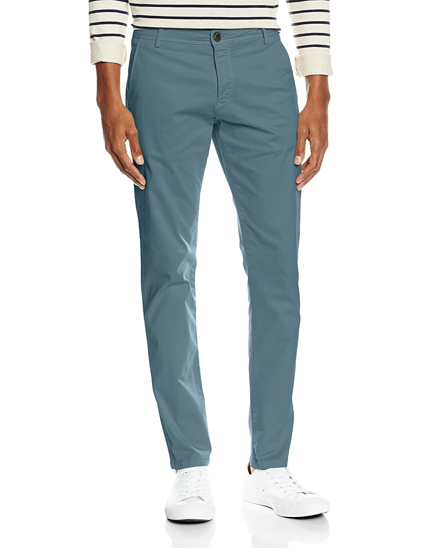 TALLA 30W / 32L. SELECTED HOMME Shhoneluca Blue Mirage St Pants Noos, Pantalones para Hombre