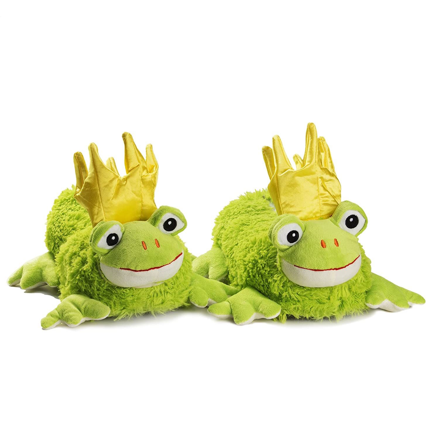 Frog Novelty Slippers Plush Animal for adults UK size 7-9 tested and certified for harmful substances N33pBDLte