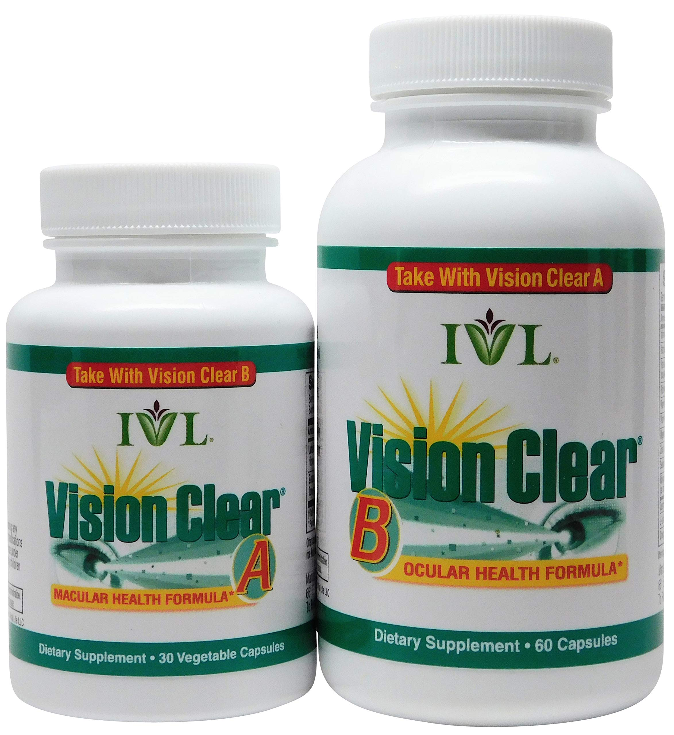 IVL – Vision Clear Macular & Ocular Health Formula, 90 Capsules (1 Month Supply)