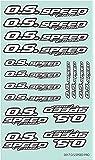 O.S.SPEED PRO ステッカー 2017 WHITE 79884294