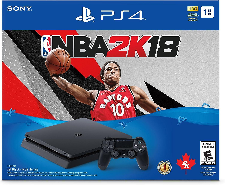 Playstation 4 1TB Slim – NBA 2K18 Bundle Edition