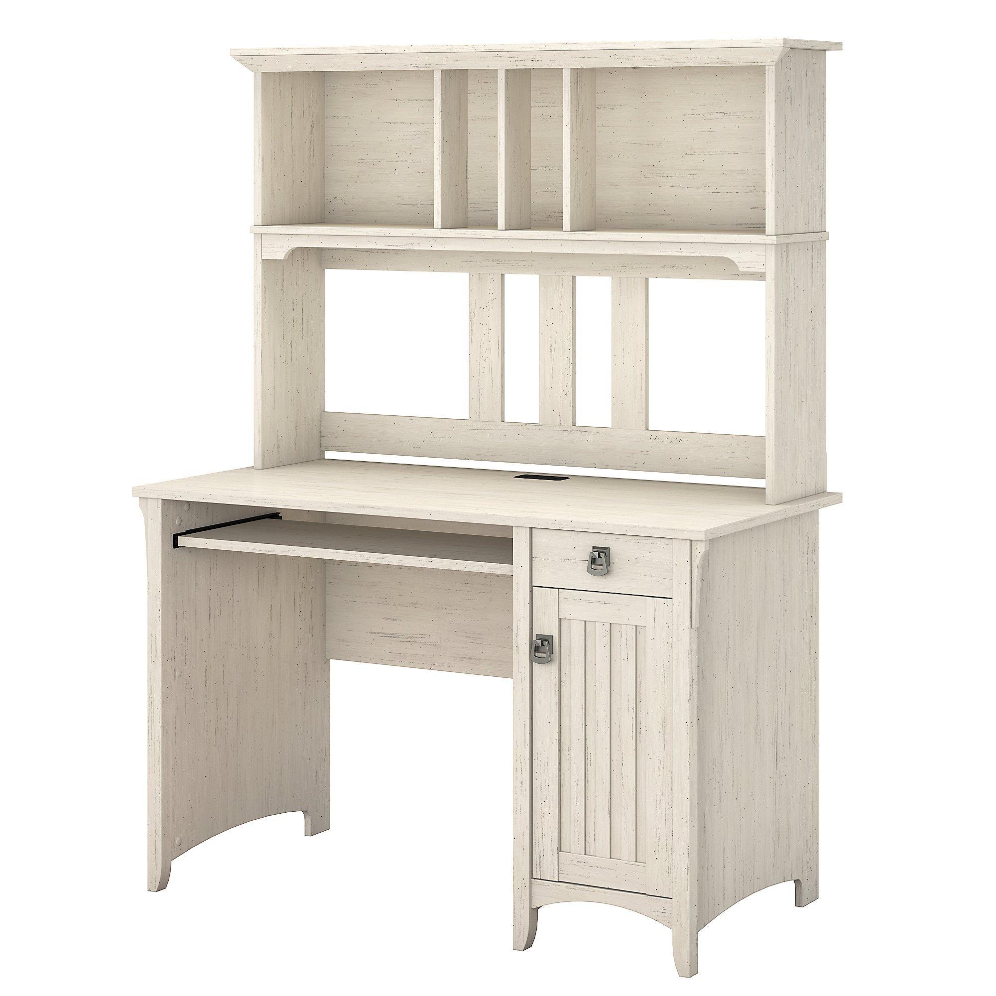 Antique White Computer Desk: Amazon.com