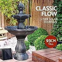 Gardeon Solar Fountain Pump Water Features Garden Bird Bath Outdoor Battery