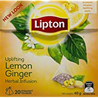 Lipton Lemon Ginger Tea, 20ct