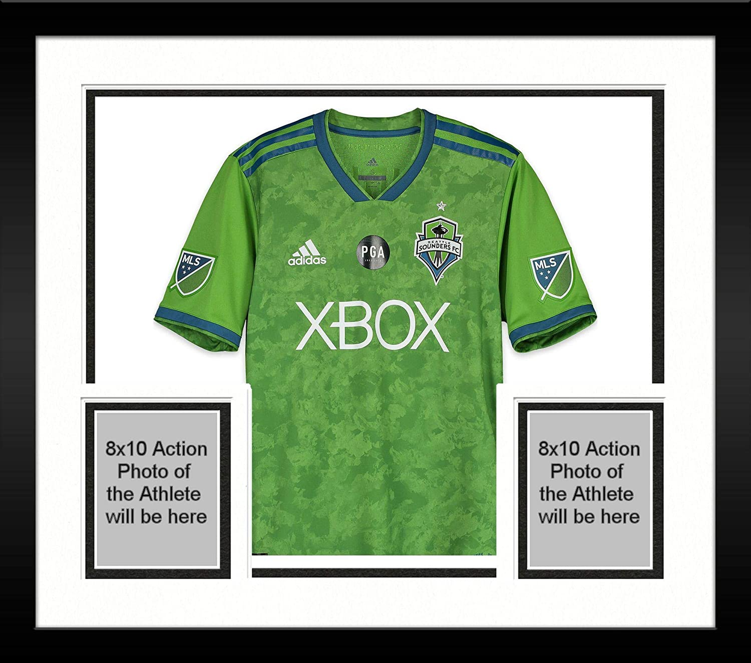 new styles 4b6b0 3d5f4 Framed Raul Ruidiaz Seattle Sounders FC Autographed Match ...