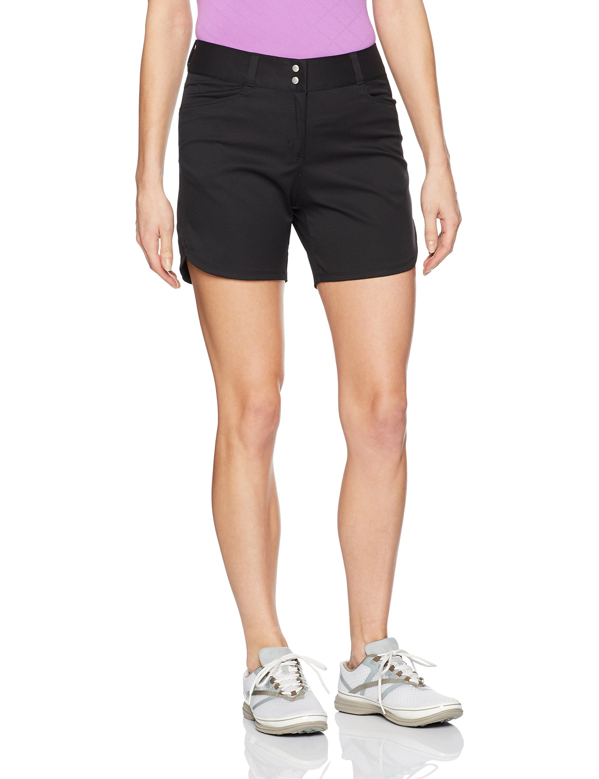 adidas Golf Women's Essential 5'' Shorts, Size 8, Black