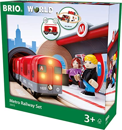Brio TRAVEL TRAIN Baby//Toddler//Child Wooden Carraiges /& People Toy Train New