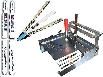 Sierra de calar mesa 012lh de 1 como sierra ingletadora 92 mm ...
