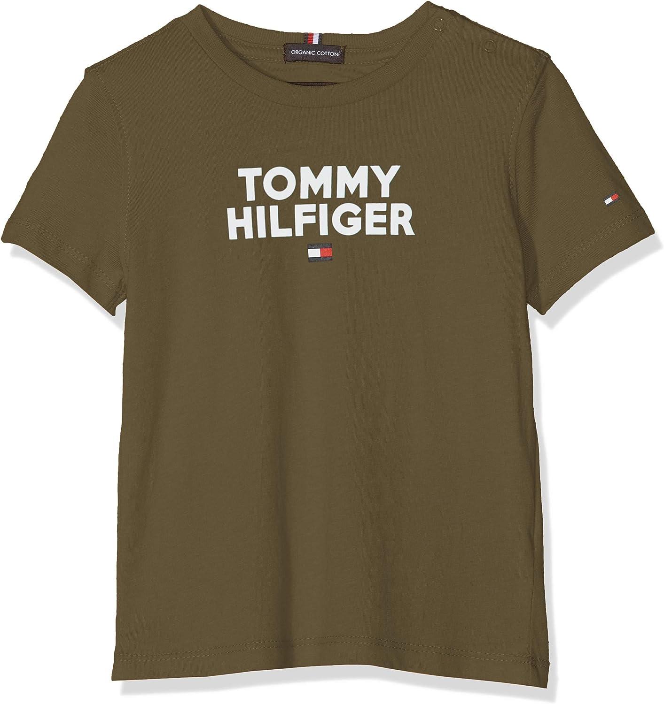 Tommy Hilfiger Baby-Jungen Logo Tee S//S T-Shirt