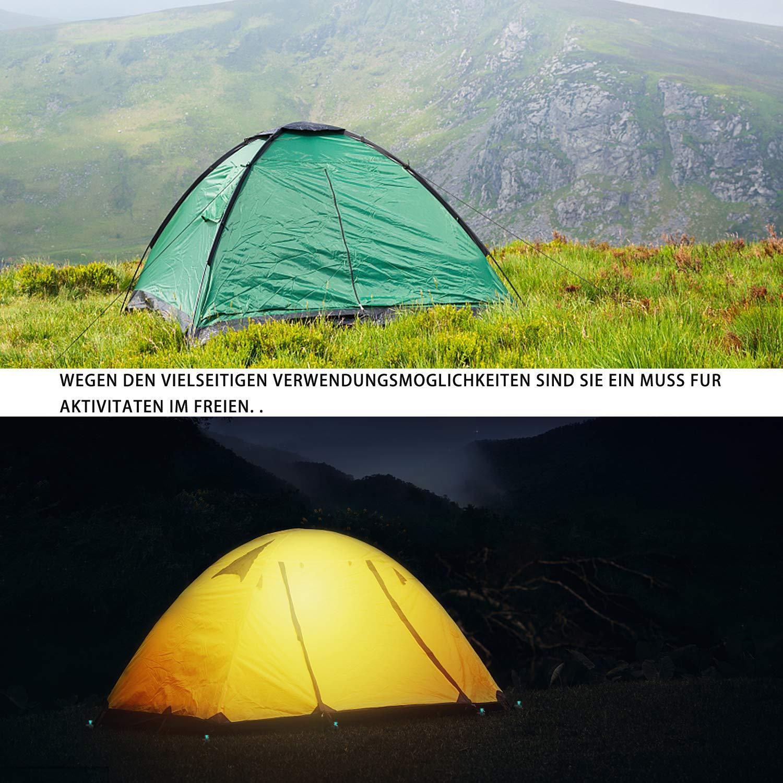 YDO Camping Acero y Arena Clavos para Exteriores monta/ñismo Piquetas para Tienda de campa/ña para Suelos Duros y de Mimbre 25 cm 4 Unidades Senderismo
