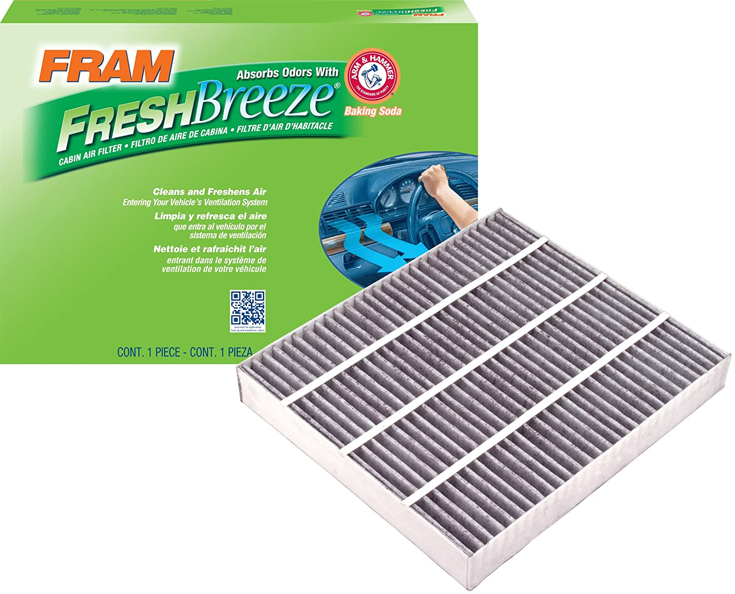 FRAM CF8249A Fresh Breeze Cabin Air Filter