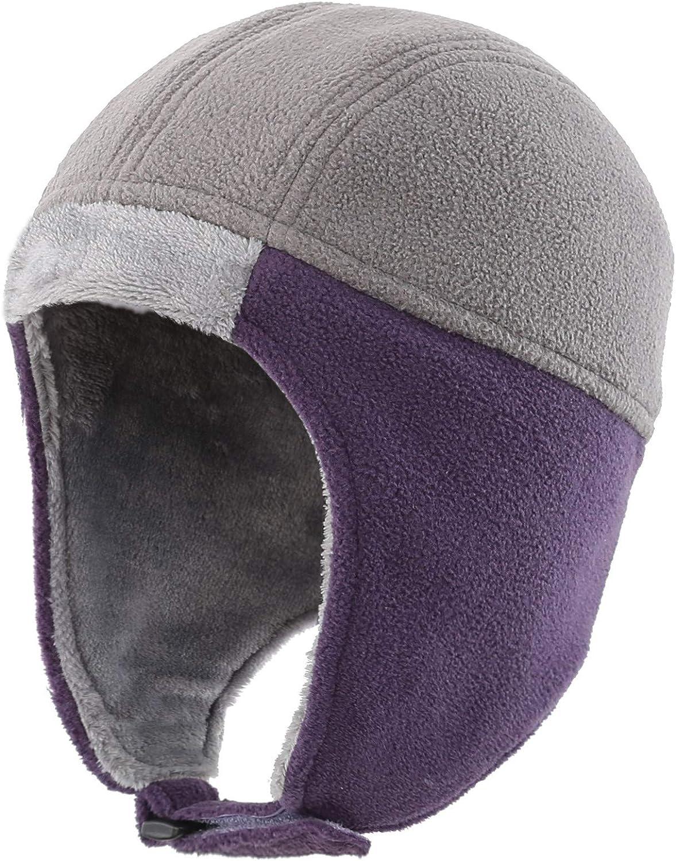 Home Prefer Kids Winter Hat Toddler Boys Girls Fleece Earflap Hat Snow Ski Hat