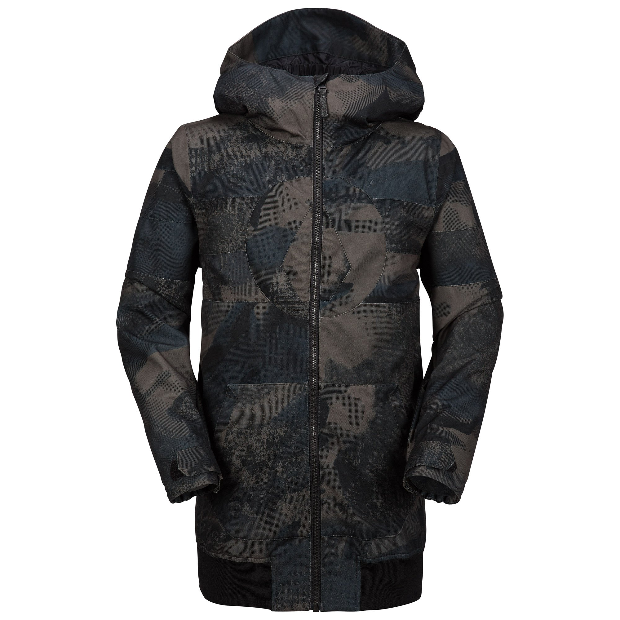 Volcom Big Boys' West Jacket, Camouflage, S