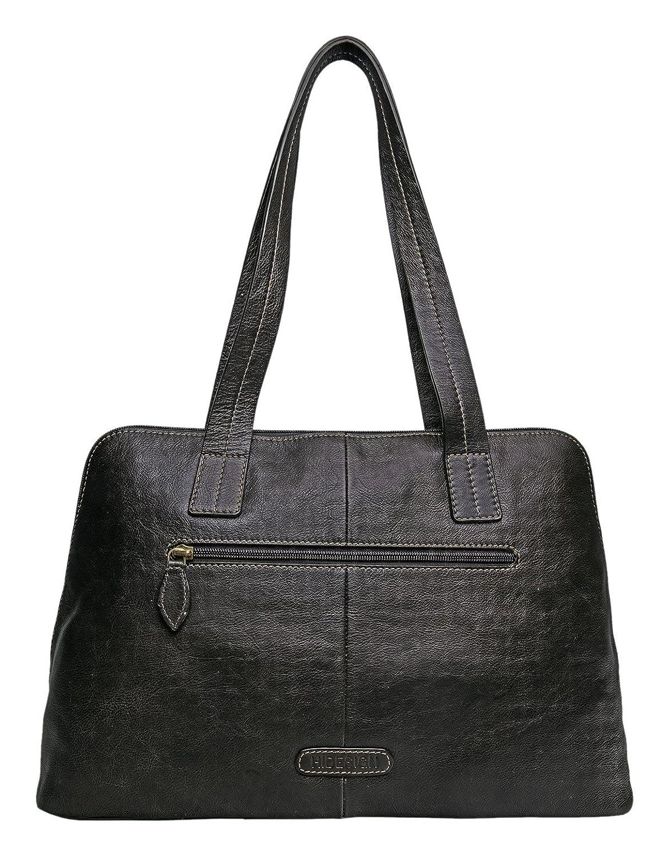 Amazon.com  HIDESIGN Cerys Leather Multi-Compartment Tote ca5e3e4fee296