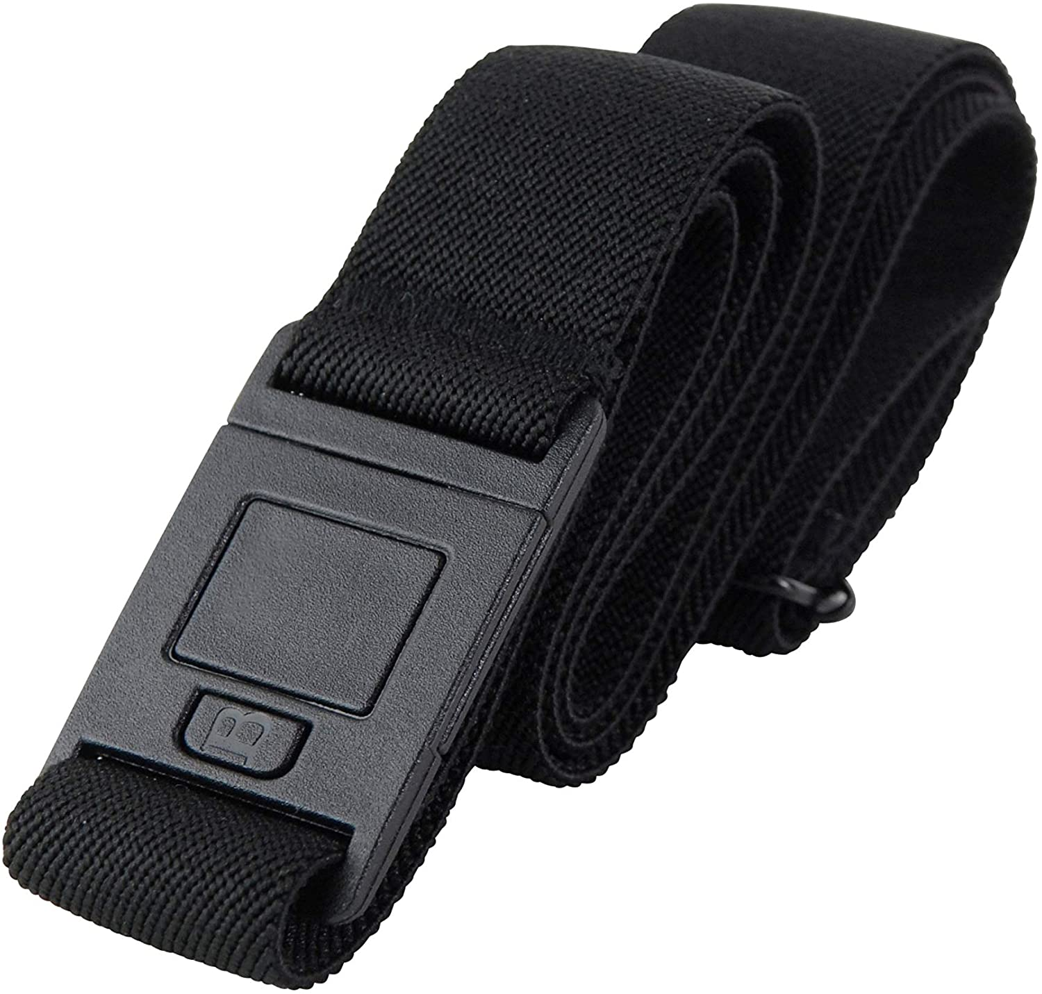 The Square Adjustable No Show Flat Buckle Belt by Beltaway, Comfortably Holds Your Pants Up: Clothing