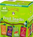 Annie's Organic Bunny Fruit Snacks, Variety Pack, 48 Pouches, 0.8 oz Each (48 Pouches) includes the GT eBook