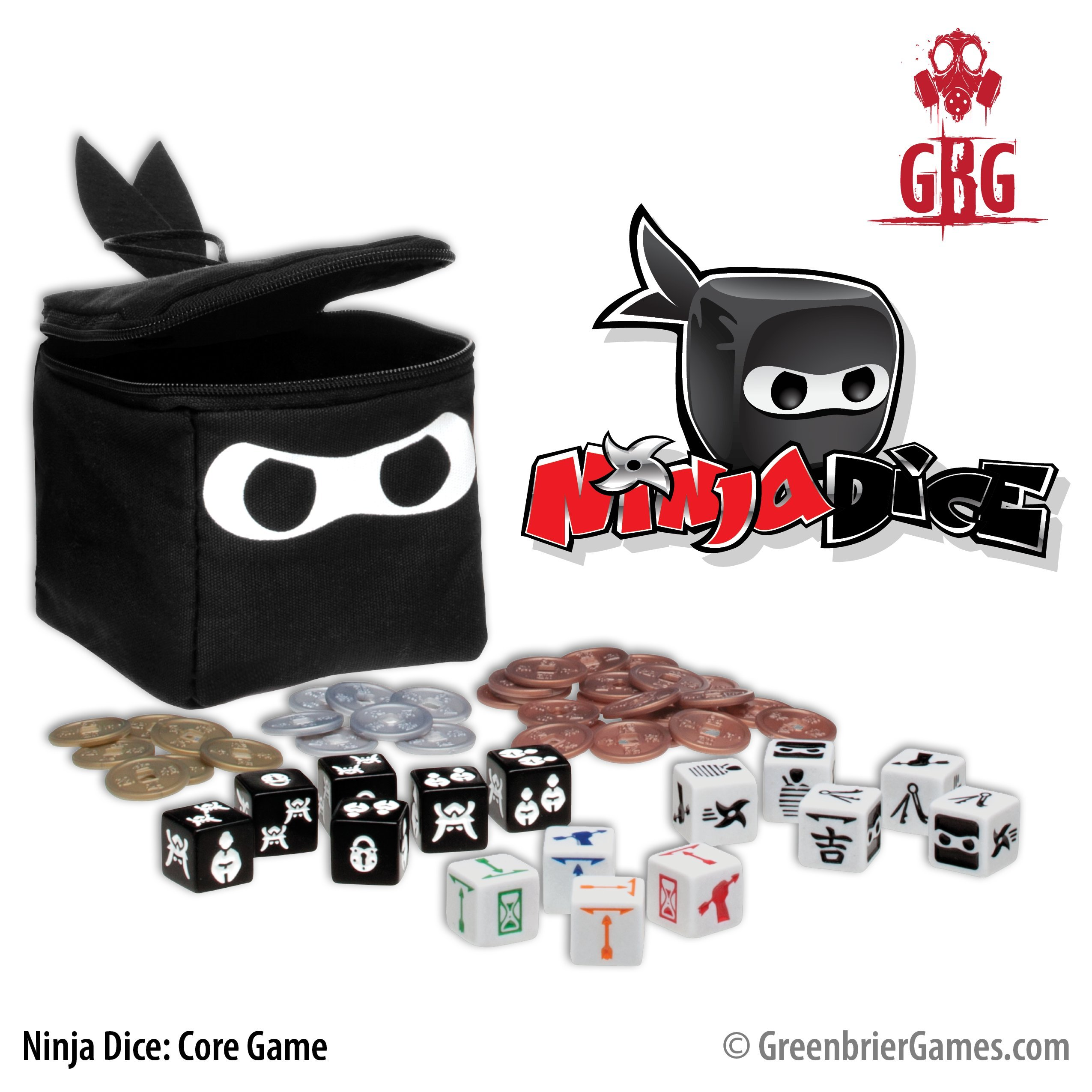 GreenBrier Games Ninja Dice Game