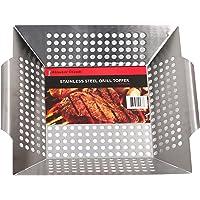 Master Cook SRAC17002 Grill Basket, Large, Sliver