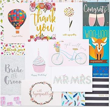 Amazon.com: 48 tarjetas variadas para cualquier ocasió ...