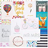 48 Pack Assorted All Occasion Greeting Cards - Includes Birthday Wedding Thank You Note Cards Assortment - Bulk Box Set…