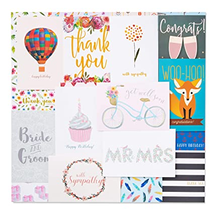 48 Pack Assorted All Occasion Greeting Cards