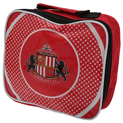 cebfb377e4c5 Sunderland AFC Official Football Gift School Lunch Box Cool Bag Red (RRP  £9.99!)  Amazon.co.uk  Kitchen   Home