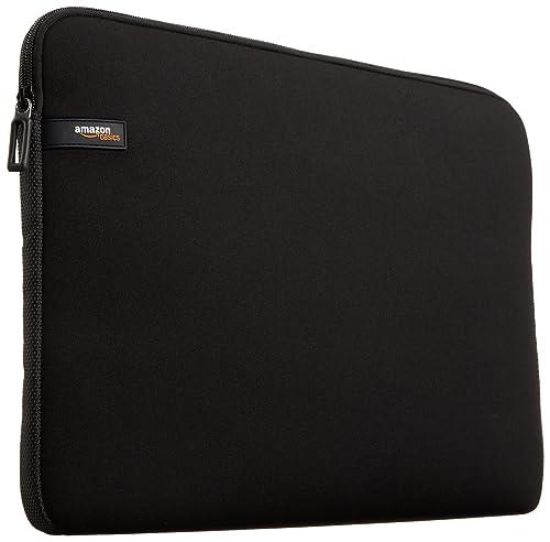 AmazonBasics Laptop Sleeve for 13.3-Inch Laptop/MacBook Air/MacBook Pro/MacBook Pro Retina Display Black