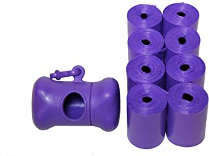 """Originalpetbags 120, 270 Easy Open with Dispenser, Thick & Strong Leak-Proof Poop Bags Dog Waste Large and Longer Each Bags Measures 13.25"""" x 9"""". Made in USA"""