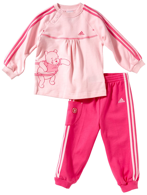 Niedriger Verkaufspreis modische Muster elegantes Aussehen adidas Inf DYQ4 Pigset Baby Tracksuit Pink oberteil: diva ...