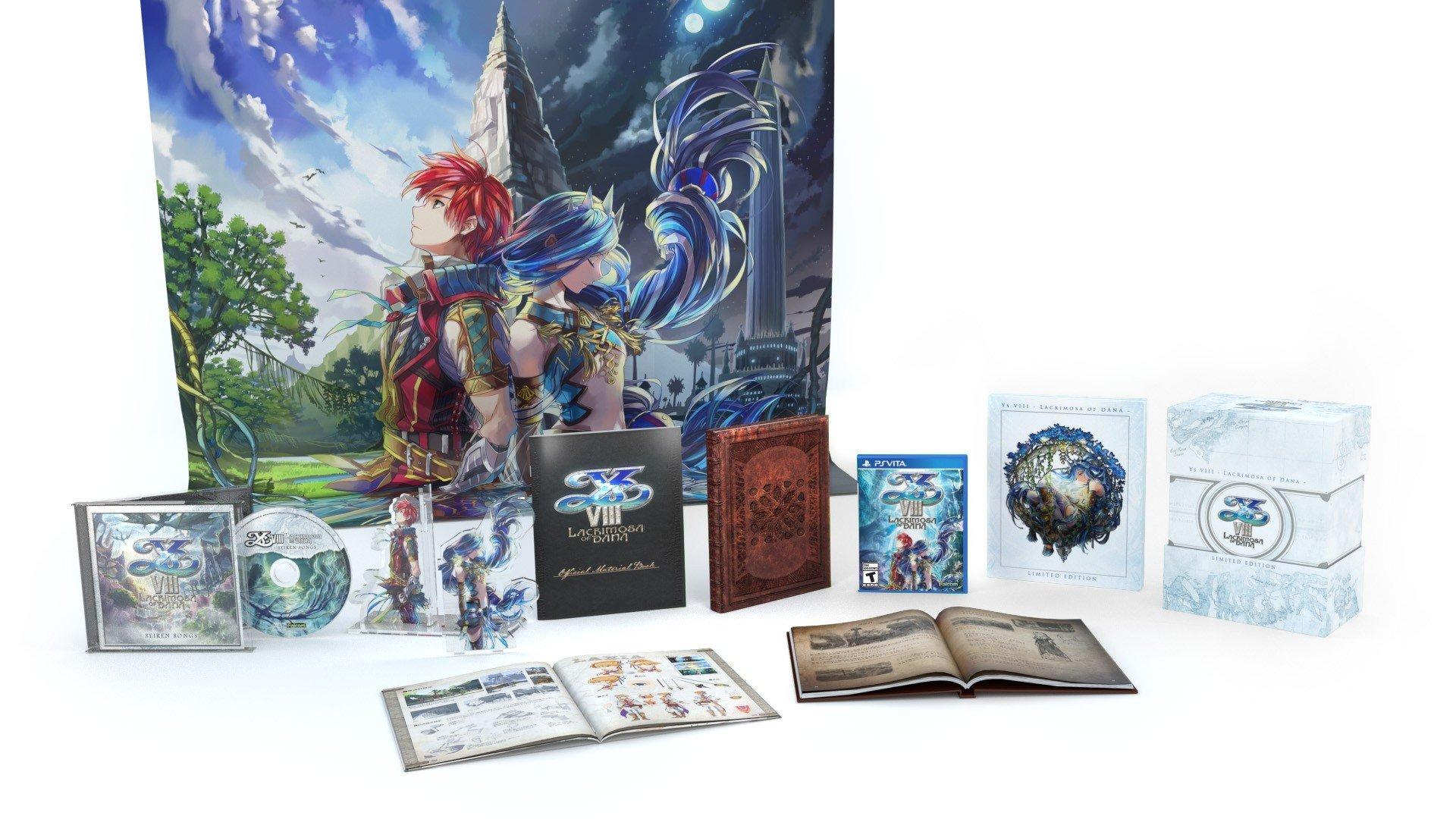 Ys VIII: Lacrimosa of DANA Limited Edition [PS Vita]
