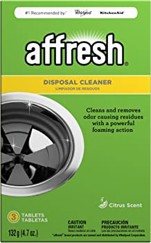 3-Piece Affresh Citrus Scent Disposal Cleaner Tablets