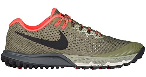 Nike Air Zoom Terra Kiger 4, Zapatillas de Running para Hombre, Verde (Medium Olive/Light Bone/Total Crimson/Black 208), 41 EU: Amazon.es: Zapatos y ...