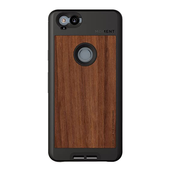 outlet store 8c3ba 7ce66 Pixel 2 Case || Moment Photo Case in Walnut Wood - Thin, Protective, Wrist  Strap Friendly case for Camera Lovers.
