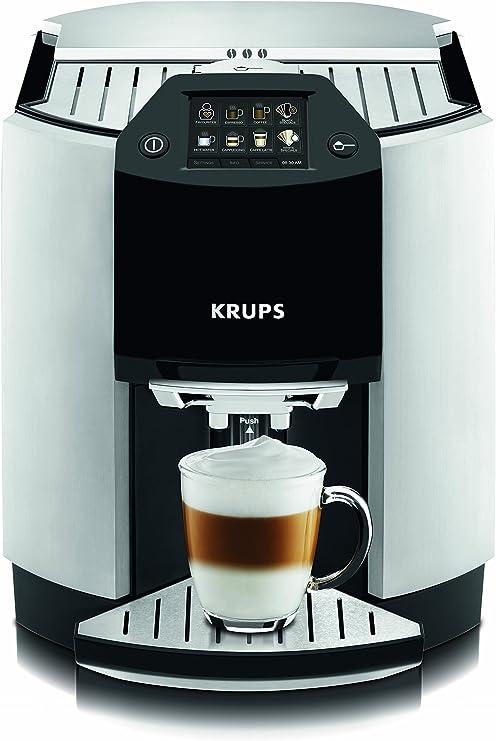 Krups EA9010 Automatic Espresso - Cafetera automática (pantalla ...