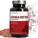 Levadura Roja de Arroz Coenzima Q10 Baja Tu Colesterol Monacolina K CoQ10 Dosis Concentrada Arroz Rojo