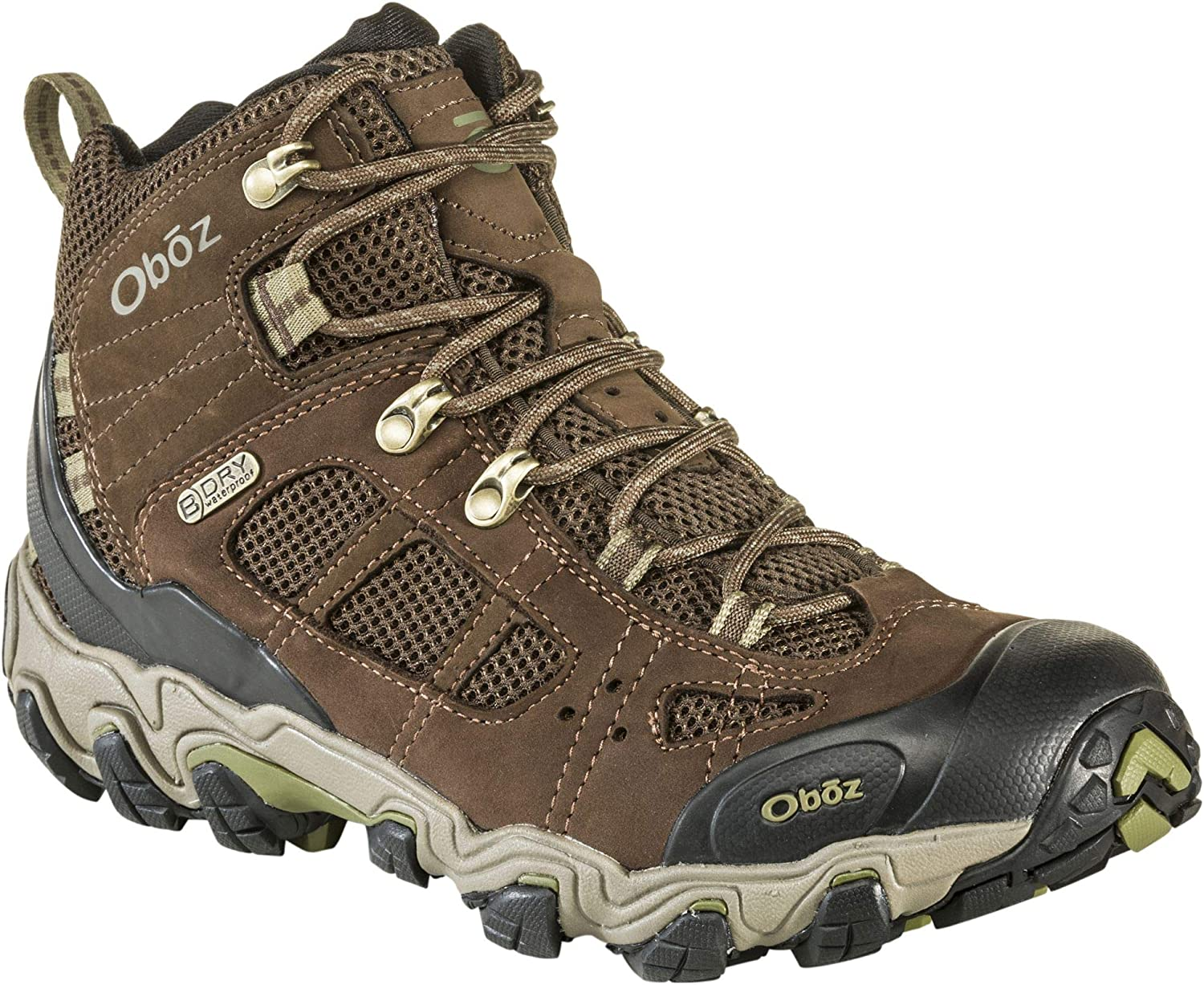 Oboz Bridger Vent Mid B-Dry Hiking Boot – Men s