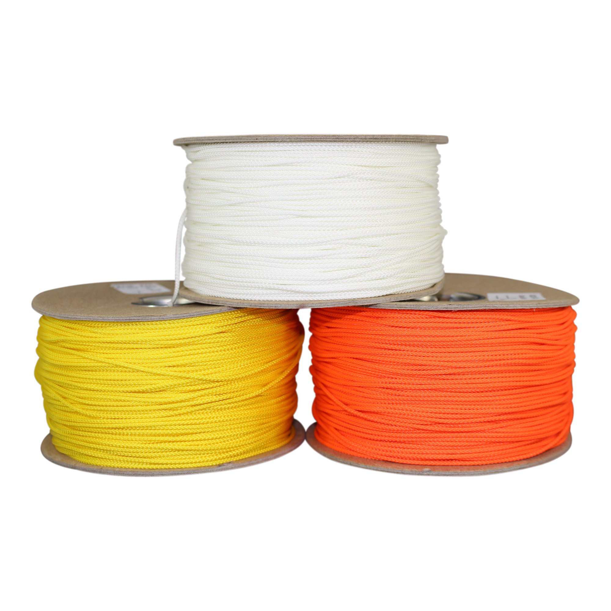 SGT KNOTS Scuba Diving Reel Line Dacron Polyester #36 - High Visibility Neon Line for Scuba Dive Reel - Deep Sea, Wreck and Cave Diving, Safety Dive Marker, Dive Float Flag (420 feet - Yellow) by SGT KNOTS