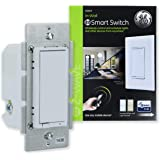 GE 14291 Enbrighten Z-Wave Plus Smart Light Switch, Works with Alexa, Google Assistant, SmartThings, Zwave Hub Required…