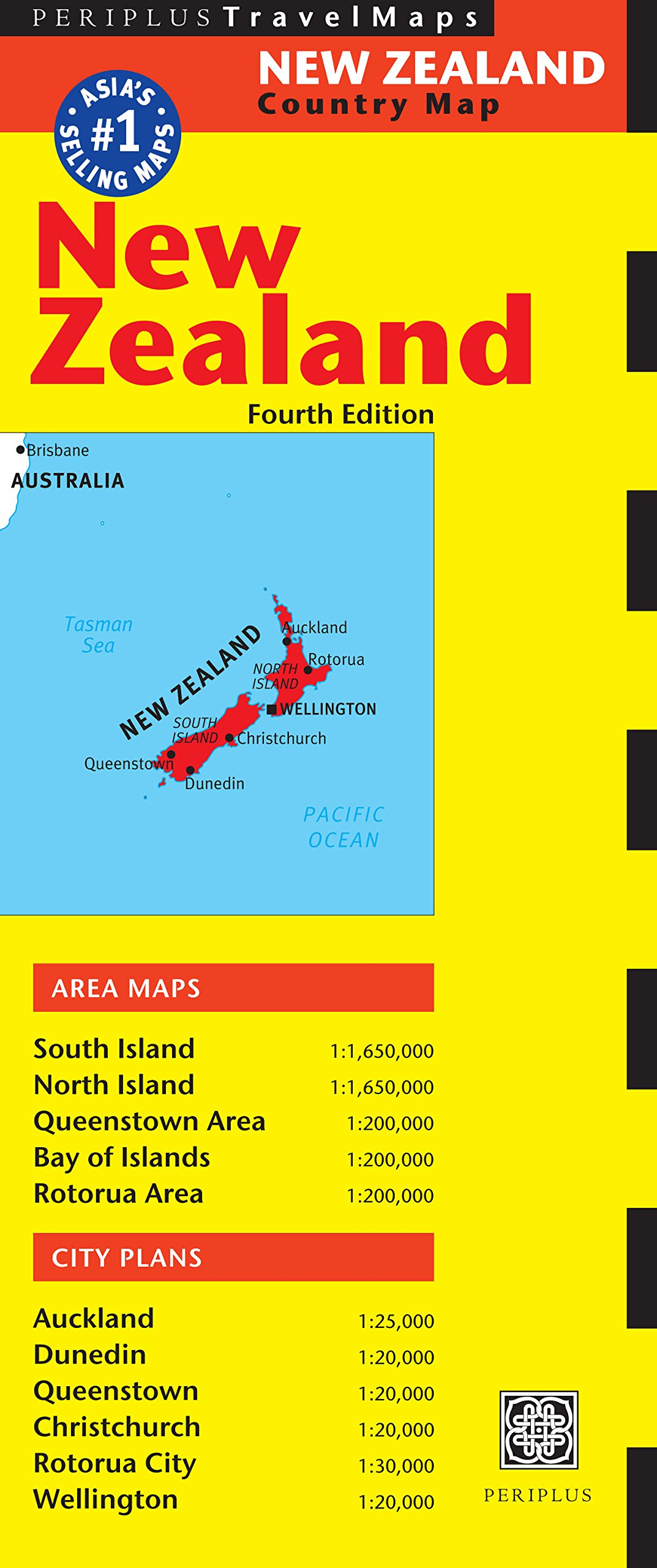 Map Of New Zealand Australia.New Zealand Travel Map Fourth Edition Australia Regional Maps