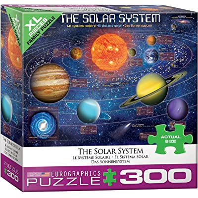 EuroGraphics (EURHR The Solar System Illustrated 300Piece Puzzle 300Piece Jigsaw Puzzle: Toys & Games