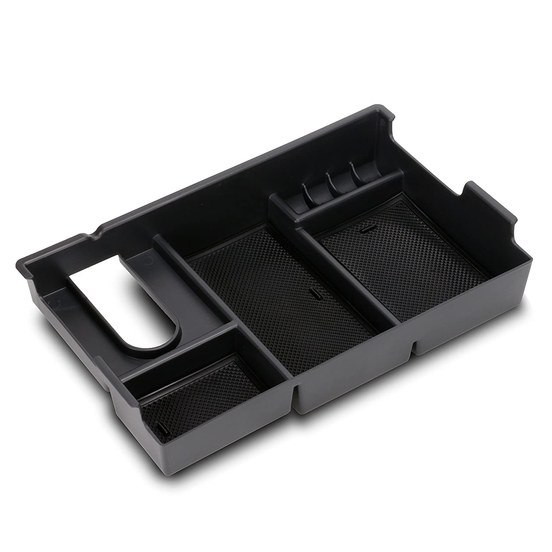 EDBETOS Car Center Console Armrest Box Glove Box Secondary Storage Console Organizer Insert Tray for Toyota Tundra 2014-2017