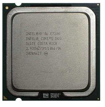 INTEL CORE 2 DUO E7500 2.93GHZ SOCKET LGA775 CPU PROCESSOR