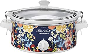Pioneer Woman 6 Quart Portable Slow Cooker Fiona Floral