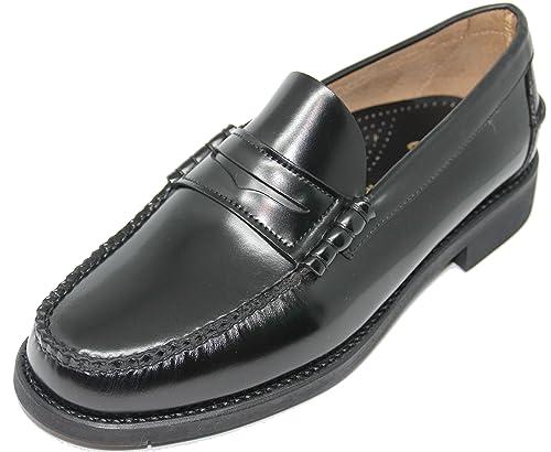 Zapato Mocasín Cosido a Mano EN Inca Mallorca; Piel de Máxima Calidad,