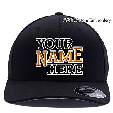 03d71996 Yupoong Custom Hat. 6477 Flexfit. Custom Logo or Name Embroidered. Place  Your Own